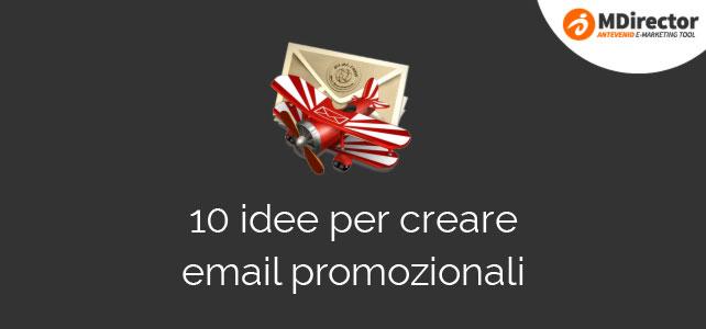email promozionali