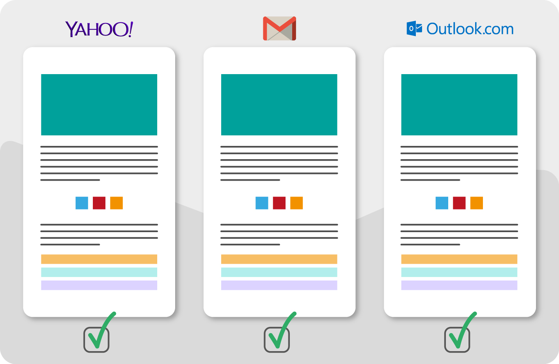 Vista previa de emails en Yahoo!, Gmail, Outlook, etc…