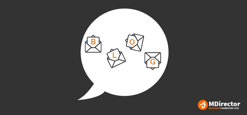 explota la combinación de email y blog marketing