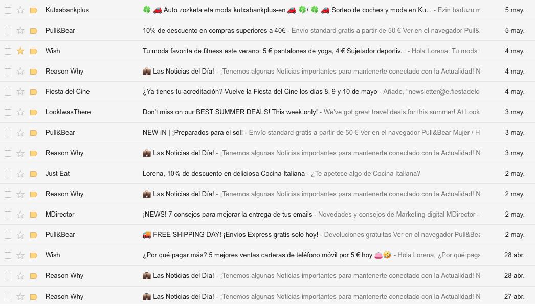 títulos que funcionan en email marketing: emojis