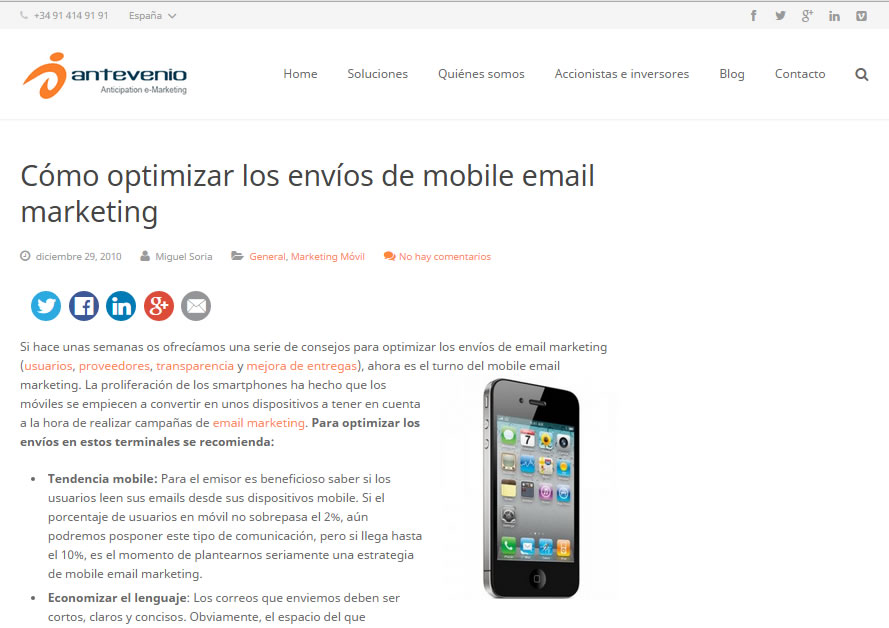 posts sobre optimizar tu estrategia mobile