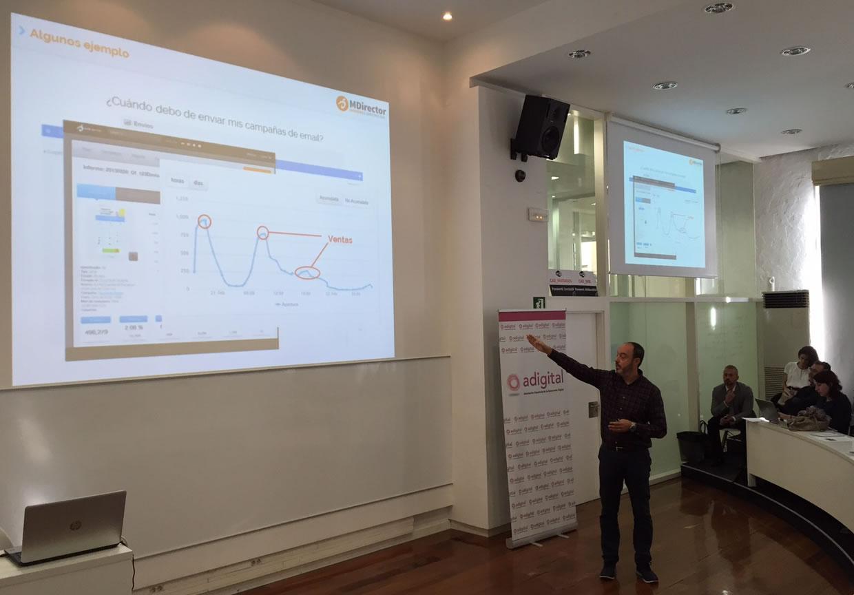 Presentación Investigación sobre uso y percepción del email marketing en España - Charla de David Olivares
