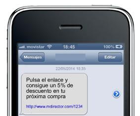 rich sms efectivos: mensajes claros