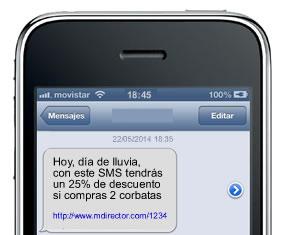 rich sms efectivos: mensajes personales