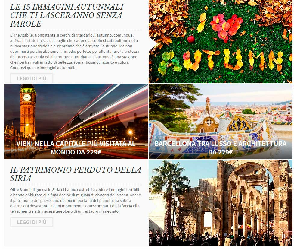 campagne successo email marketing: il turista curioso