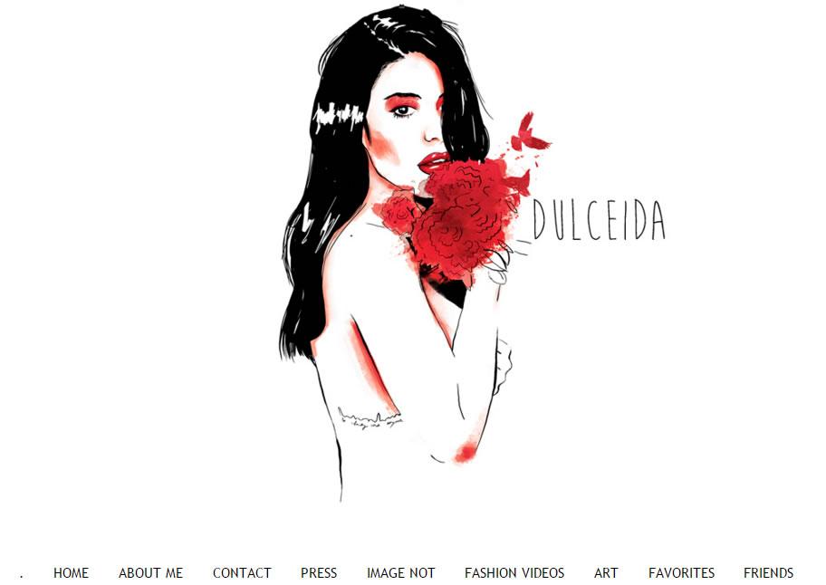 influencers de moda: Dulceida