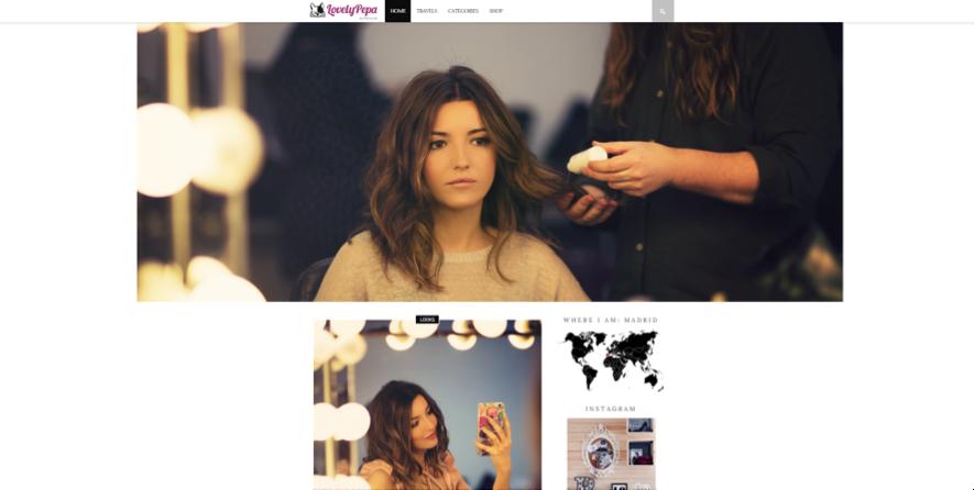 blogueras de moda: Lovely Pepa