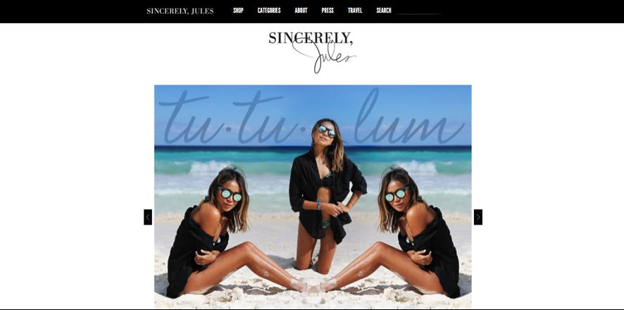 blogueras de moda: Sincerely Jules