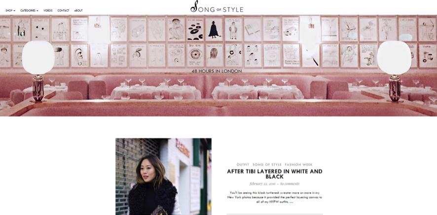 blogueras de moda: Aime Song