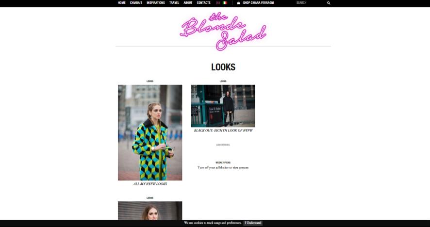 blogueras de moda: The blonde salad