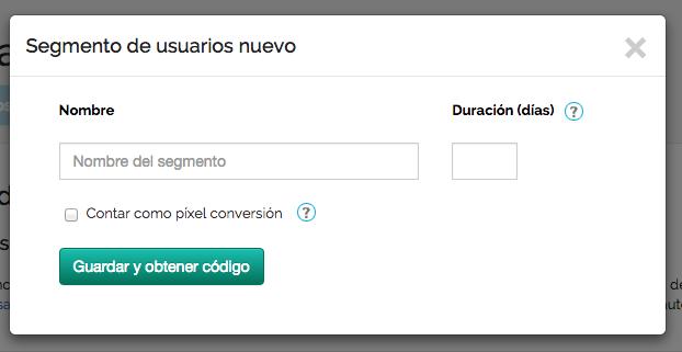 Pasos para usar píxeles para crear segmentos de audiencia con MDirector (1)