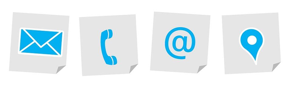 elementos clave en tu estrategia de marketing online: Contacto