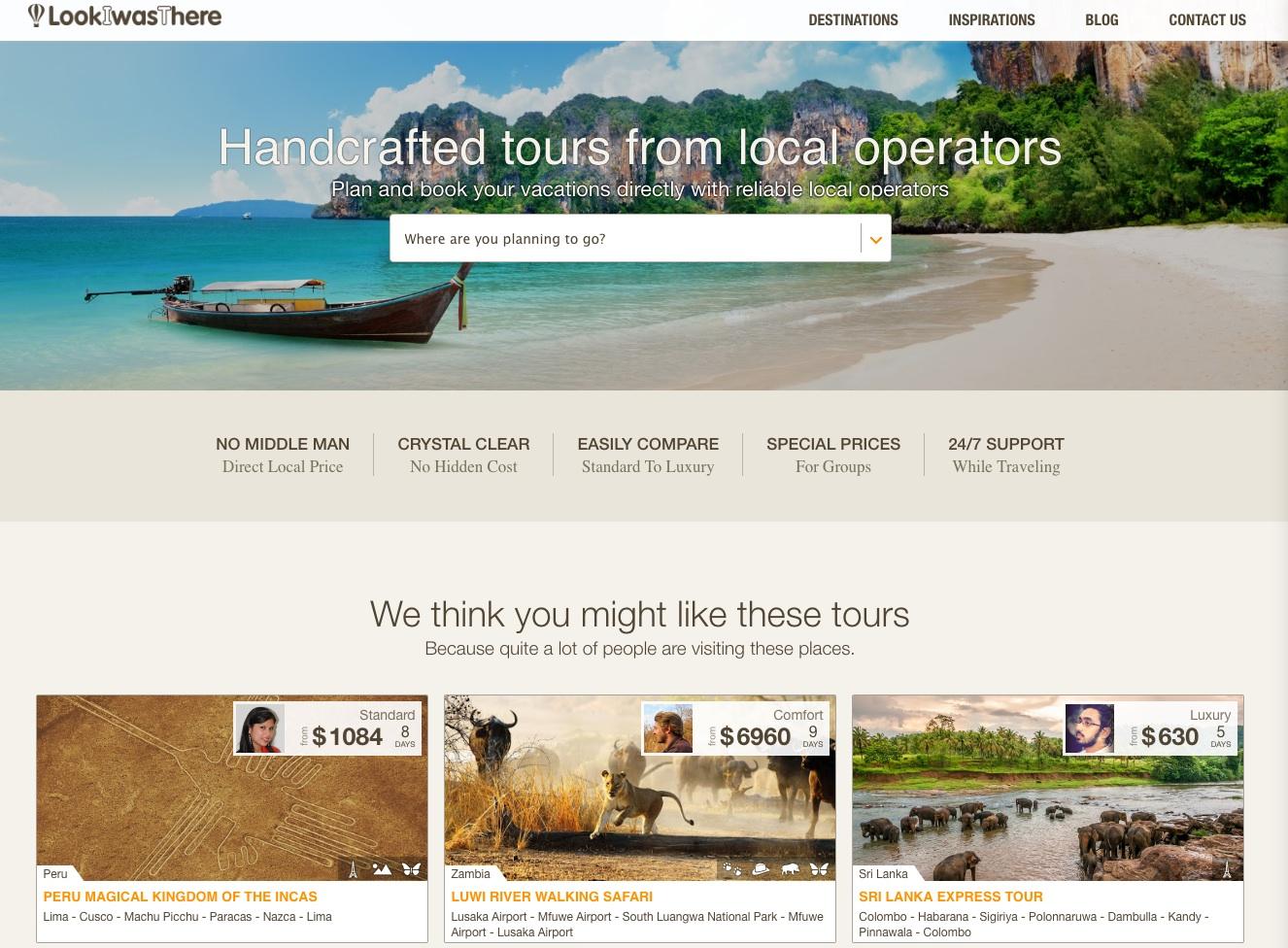 las mejores webs de viajes: look i was there