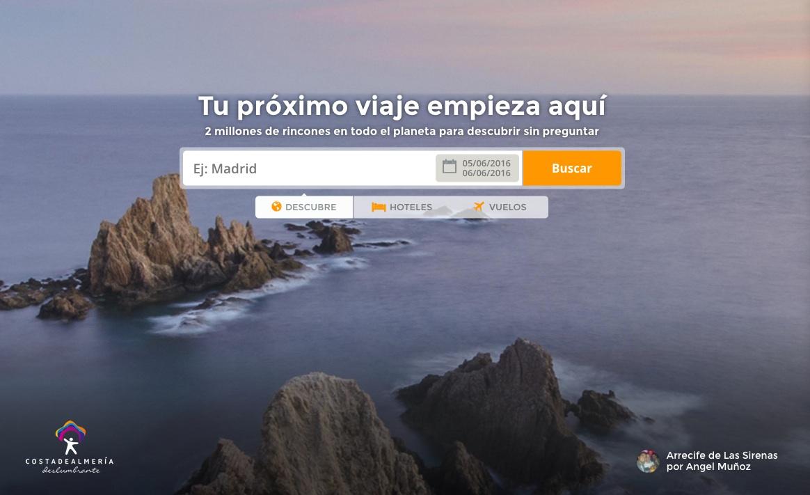 las mejores webs de viajes: minube