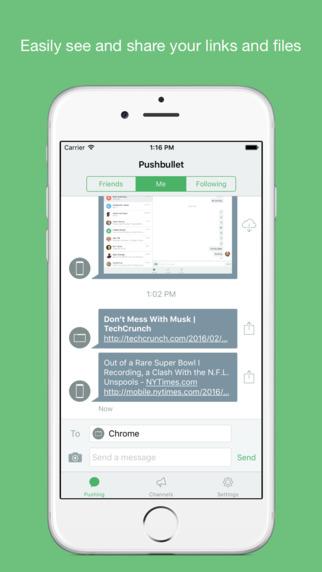 apps que van a triunfar en 2016: pushbullet