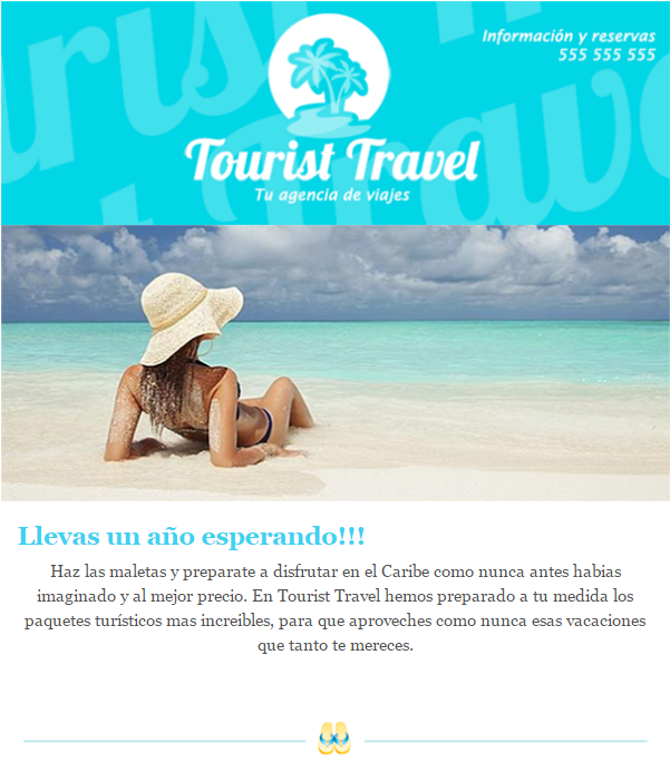 plantillas para emails de viajes