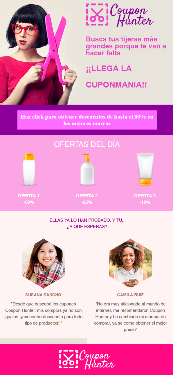 plantillas para emails de ecommerce