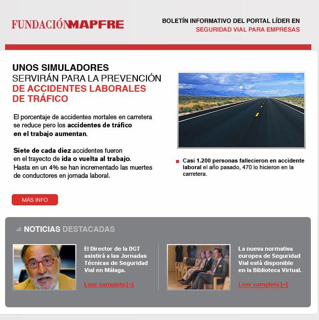 Email automatizzate per il settore assicurativo: Mapfre