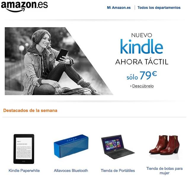 Estrategias de retargeting para vender más: Amazon