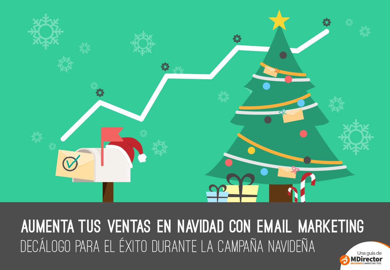 Aumenta tus ventas en Navidad con email marketing