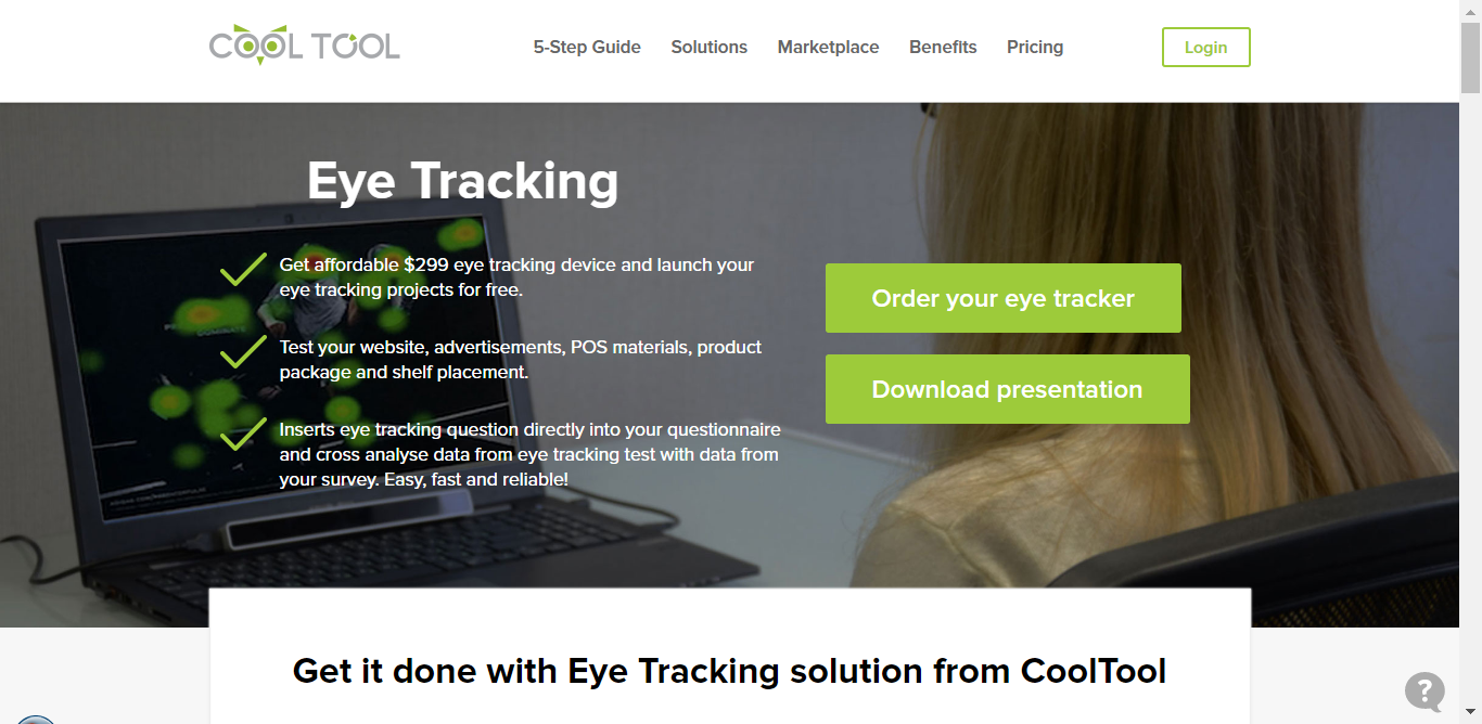 eye tracking en emails CoolTool