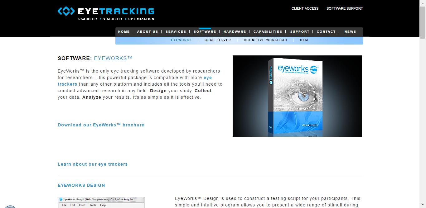eye tracking en emails EyeWorks