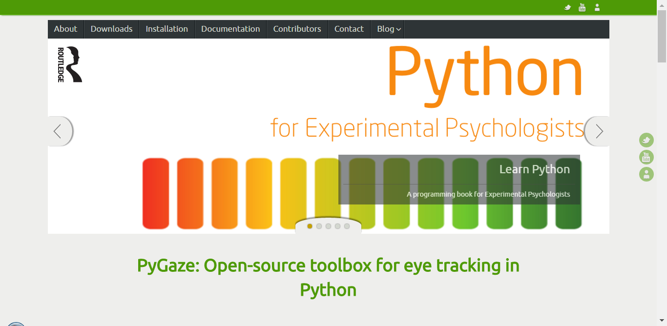 eye tracking en emails : PyGaze