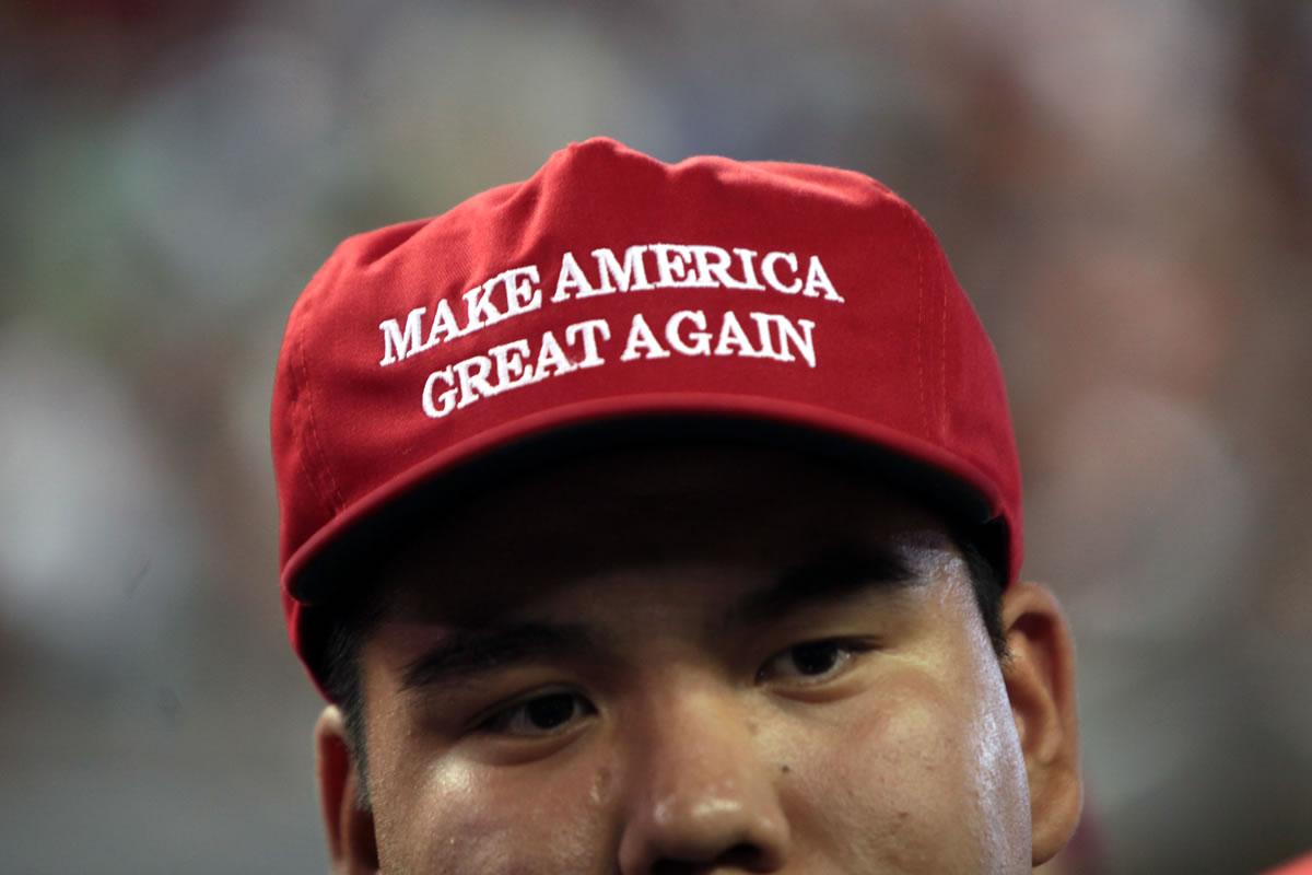 estrategias de marketing de Donald Trump: un gran eslogan