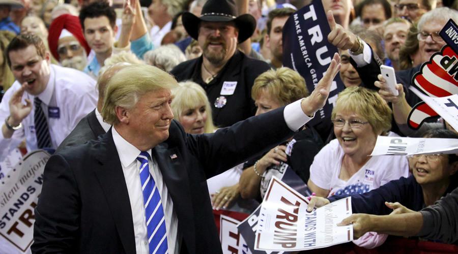 estrategias de marketing de Donald Trump: crear comunidad
