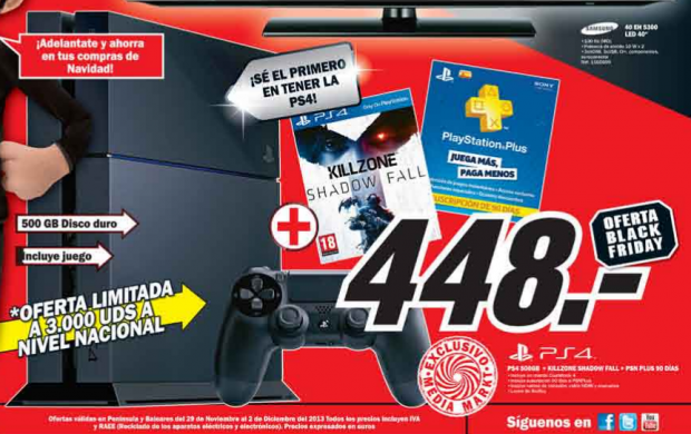 tácticas para vender en Black Friday: Media Markt