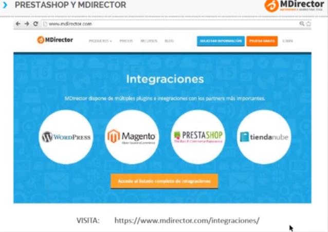 Plugins MDirector