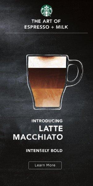 diseñar un banner para campañas de display: Starbucks