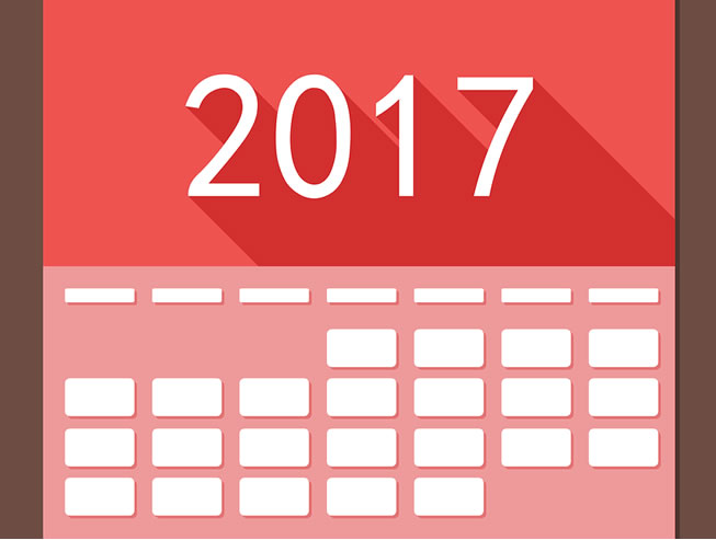 Calendario 21 Day Fix.2017 Calendar Of Important Events For Your Marketing Plans