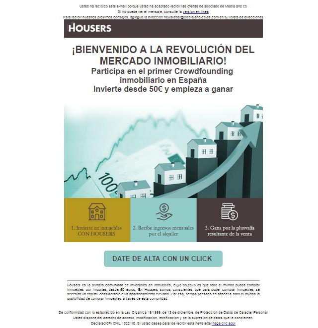 newsletters para el mercado inmobiliario