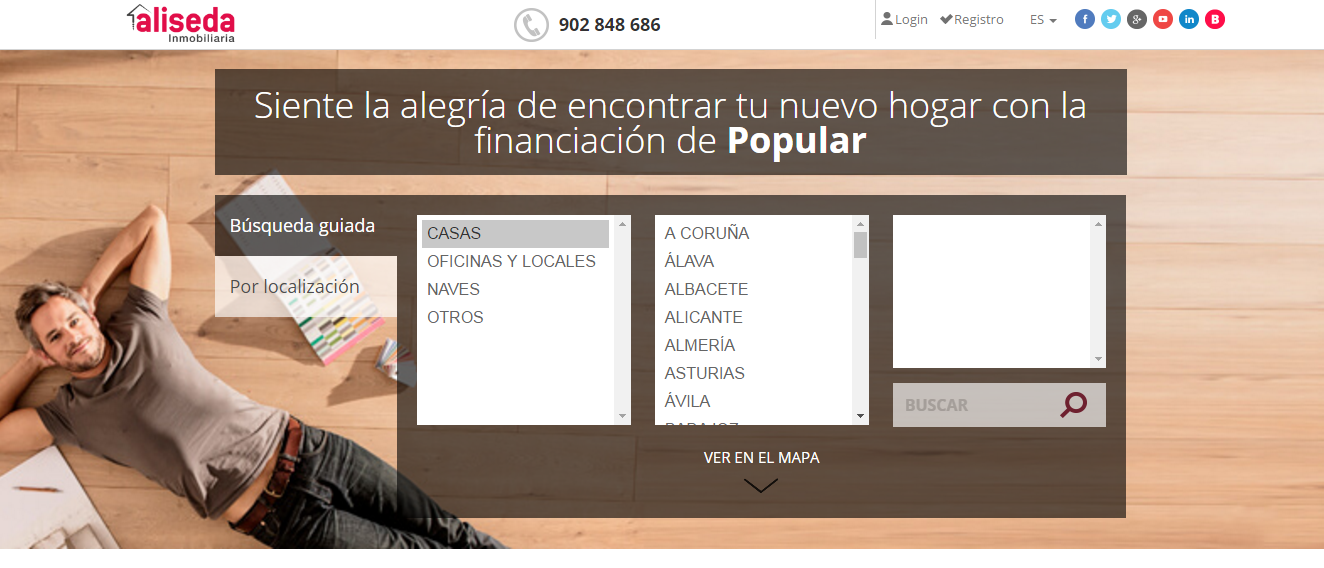 landing page para marketing inmobiliario