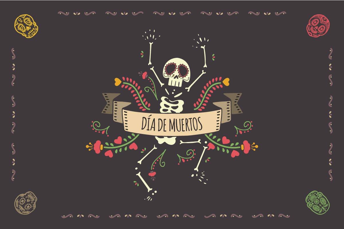 calendario de marketing de 2017: Día de los muertos