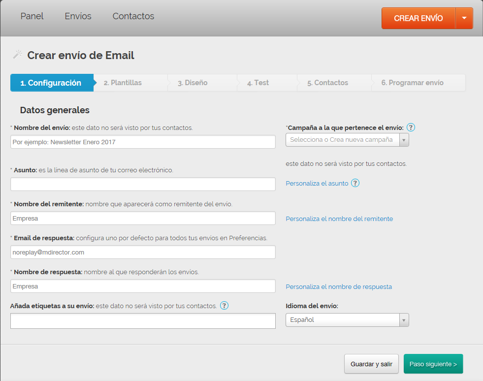 Aprende a usar la herramienta de Email Marketing MDirector