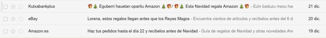 asuntos de emails personalizados