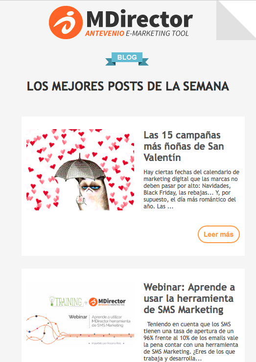 automatizar emails de blogs