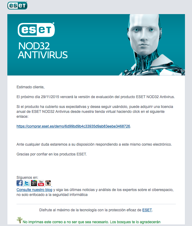 automatizar emails de vencimientos