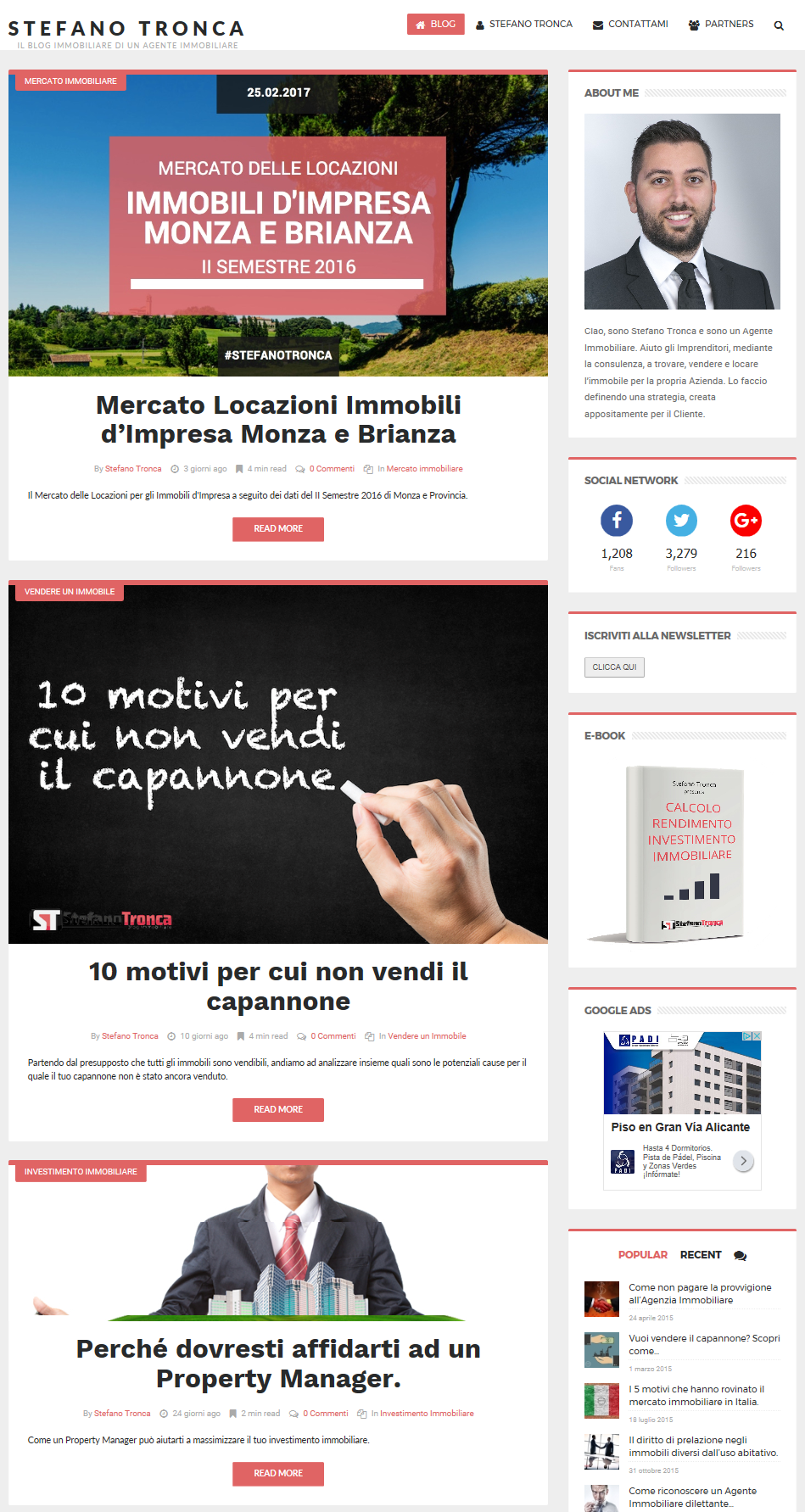 marketing digitale applicati al settore immobiliare: Crea un blog