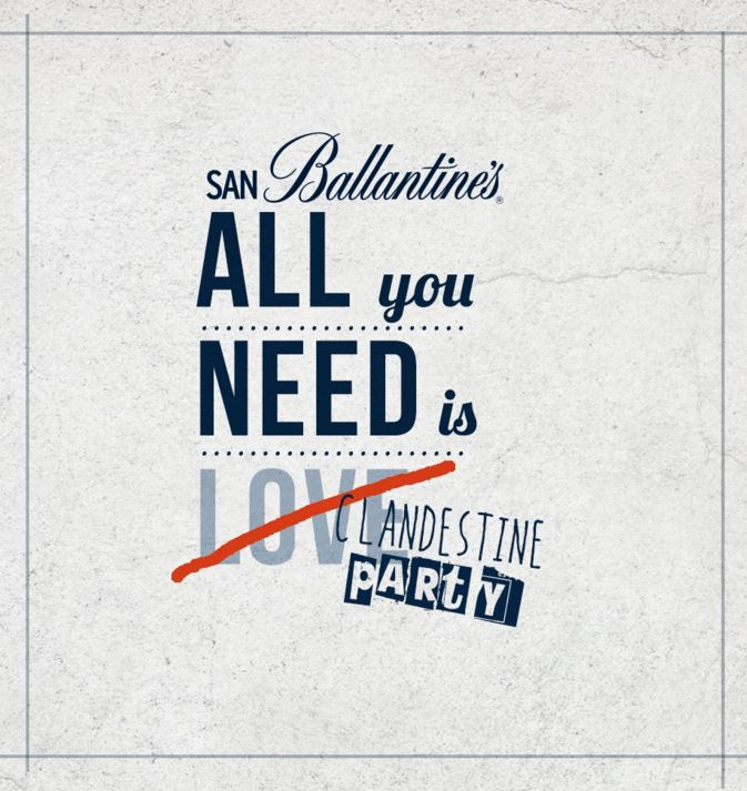 campañas de San Valentín : Ballantine's