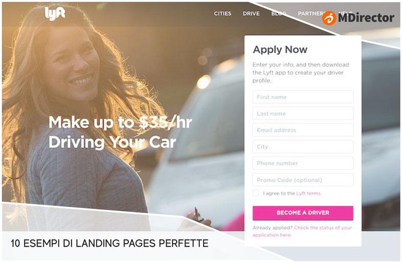 10 esempi di landing pages perfette