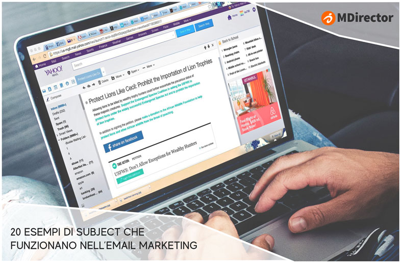 20 subject che funzionano nell'email marketing