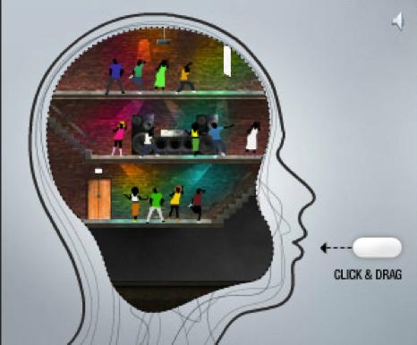 esempi di banners creativi: glaxosmithkline