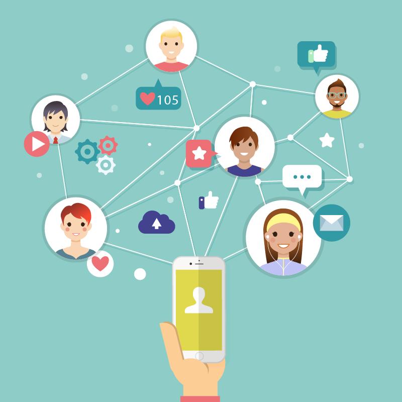 comparte tus redes sociales