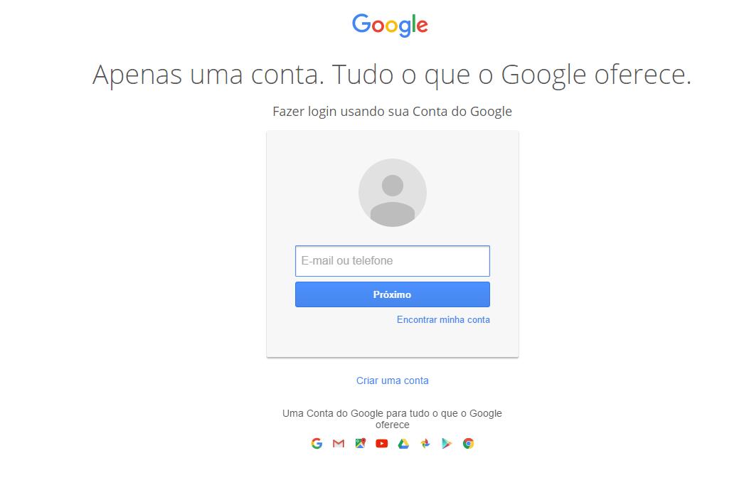 10 exemplos para criar um formulário de captação: Google