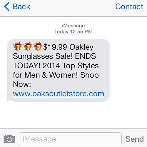 inserire un link nei tuoi SMS: www