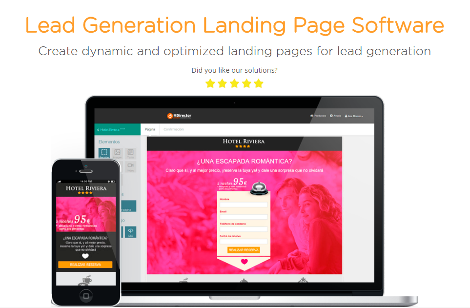 Digital Marketing for entrepreneurs: Landing Pages