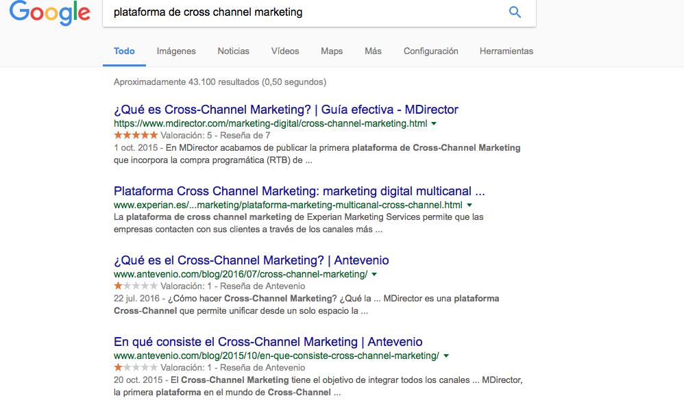 pecados de marketing digital: No trabajar el posicionamiento web